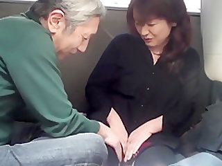 Japanese old man car sex Vol. 2 Part 1