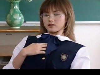 Jap school girl uniform cummed